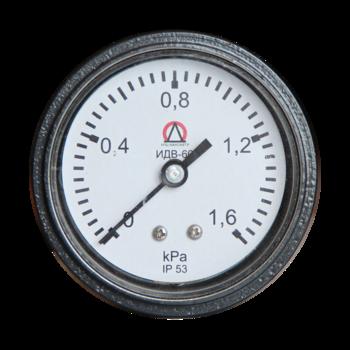 Индикатор давления воздуха ИДВ-60. Вид спереди.