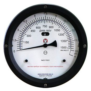 Дифференциальные манометры - уровнемеры