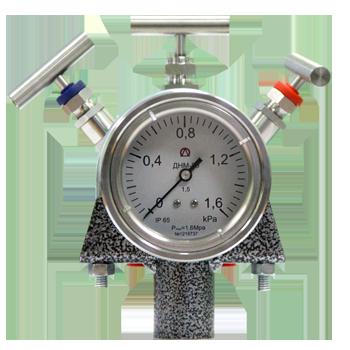 Дифференциальный манометр уровнемер ДНМ-80У применяется для измерения уровня жидкостей и сжиженных газов в закрытых резервуарах