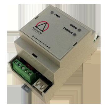 Устройство RIOm-sCOMM -  компьютерный модуль повышенной надежности с поддержкой сетевых интерфейсов RS485 и Ethernet.