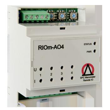 Контроллер вывода аналоговых сигналов