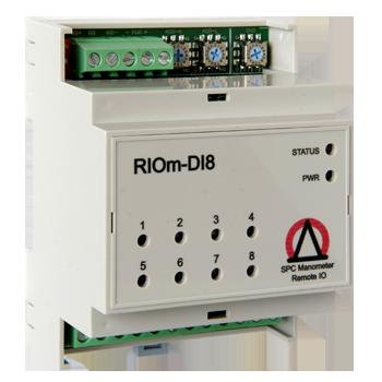 Восьмиканальный модуль повышенной надежности для удаленного мониторинга (ввода) дискретных сигналов с поддержкой протокола MODBUS