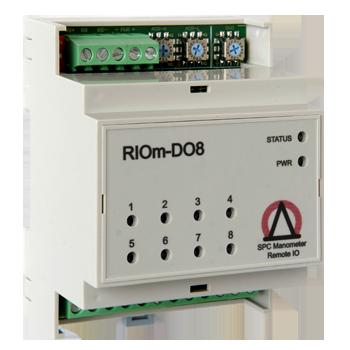 Восьмиканальный модуль повышенной надежности предназначенный для удаленного управления дискретными выходами с поддержкой протокола MODBUS