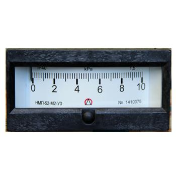 Напоромер НМП-52-М2, Тягомер ТмМП-52-М2, Тягонапоромер ТНМП-52-М2 для измерения малого избыточного, вакууметрического, мановакууметрического давления (напора) воздуха и различных неагрессивных газов.