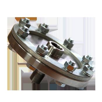 Разделитель мембранный РМ5319 для предохранения измерительного прибора от агрессивных, вязких или кристаллизирующихся сред.