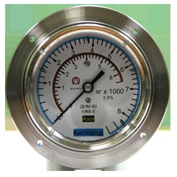 Применяется для измерения уровня жидкого кислорода, азота или аргона в криогенных резервуарах типа ЦТК или РК.